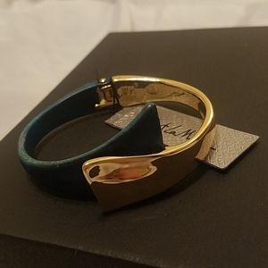 Robert Lee Morris hinged 2 toned bracelet NWT